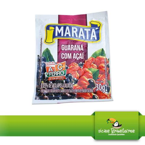 Refresco Acai com Guarana - Marata - 30gr