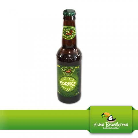 Cerveja Forest Pilsen - Amazon Beer - 330ml - 4,1 % Vol.