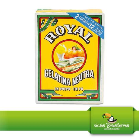 Gelatina Neutra - Royal - 20gr