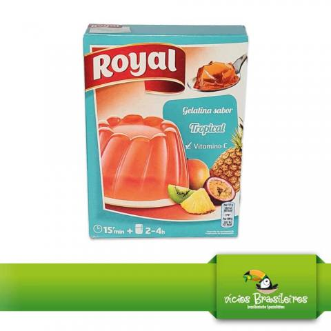 Gelatina de Tropical - Royal - 2x57gr