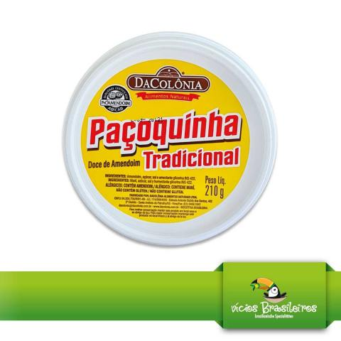 Pacoca Rolha Traditional - DaColonia - 210gr