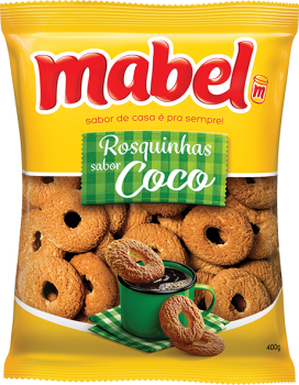 Rosquinhas Mabel - Coco - 400gr